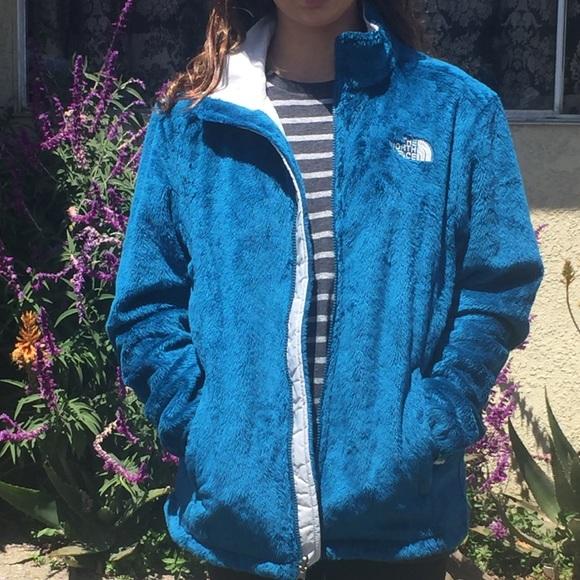 0b6675d69 Teal/Ocean Blue North Face Jacket